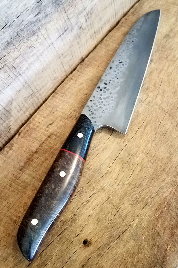 Tatanka Custom Handmade Kitchen Knife Set