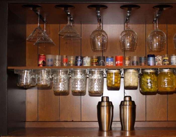 mason jar storage racks 26184
