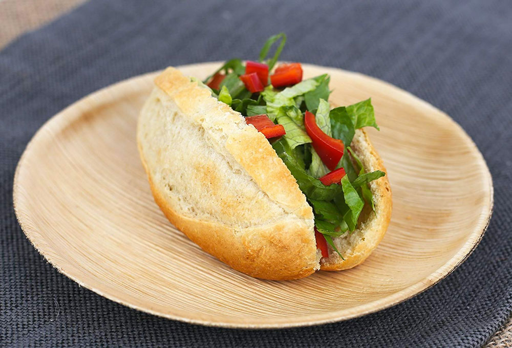 ... Palm Leaf Biodegradable Disposable Plates u0026 Bowls & Palm Leaf Compostable Disposable Plates u0026 Bowls | DudeIWantThat.com