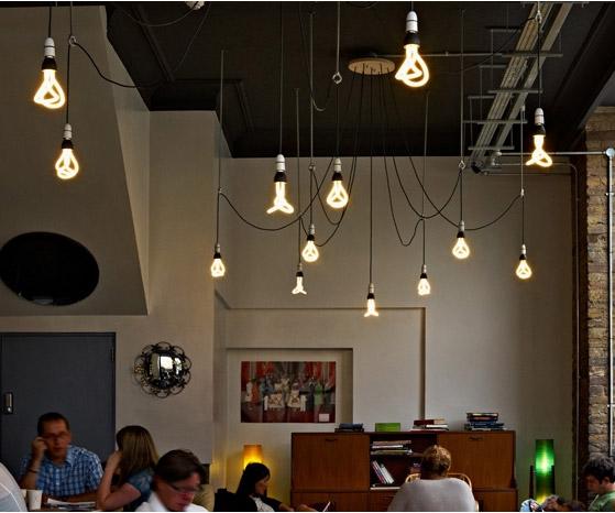 ... Designer Low Energy Light Bulbs In Restaurant ... & Designer Low Energy Light Bulbs   DudeIWantThat.com azcodes.com