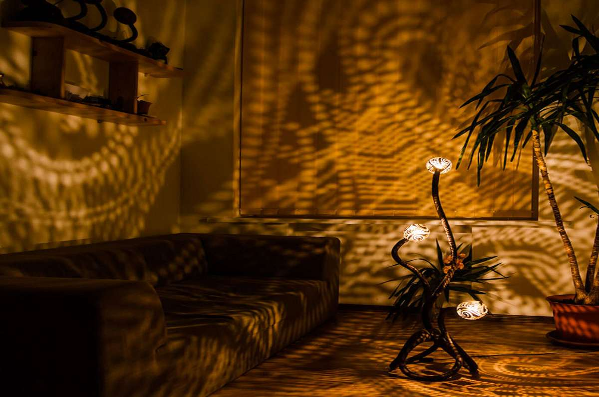 Shadow Lamps Nymphs Coconut Shell Projection Lamps Dudeiwantthatcom
