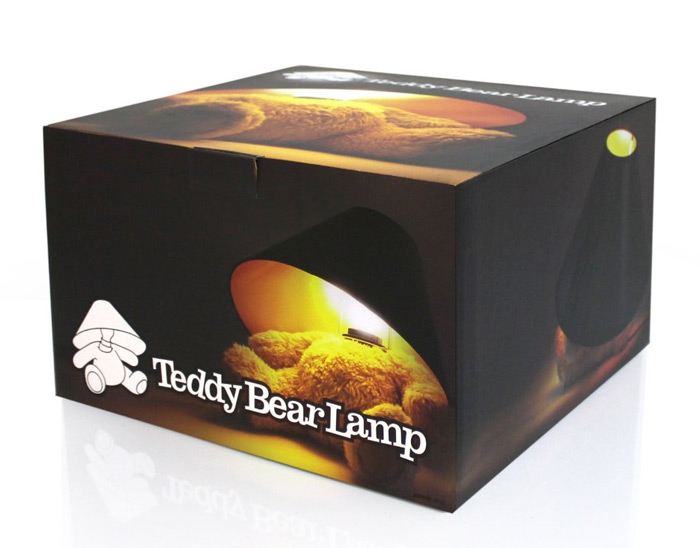Teddy Bear Lamp. ADDITIONAL IMAGES