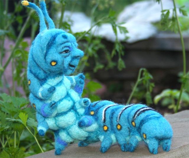 in Wonderland Caterpillar & Hookah