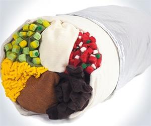 Burrito Body Pillow