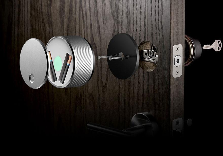August Digital Door Lock | DudeIWantThat.com
