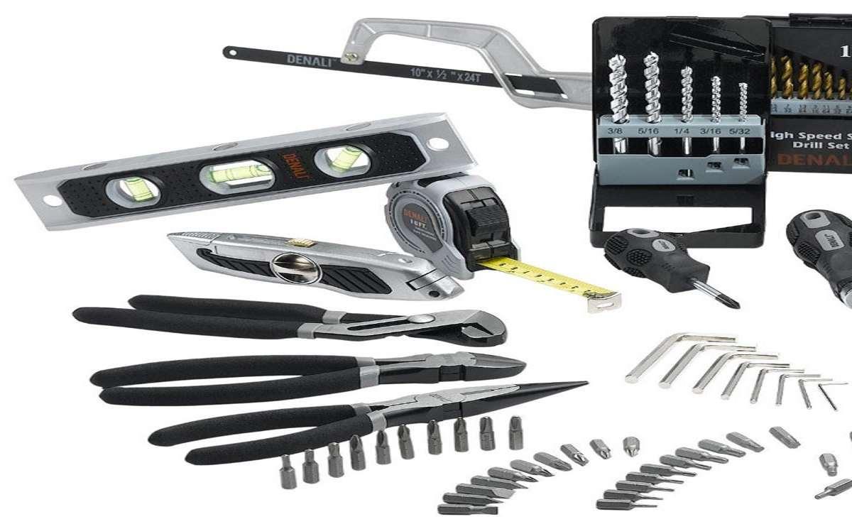 denali 115 piece home repair tool kit