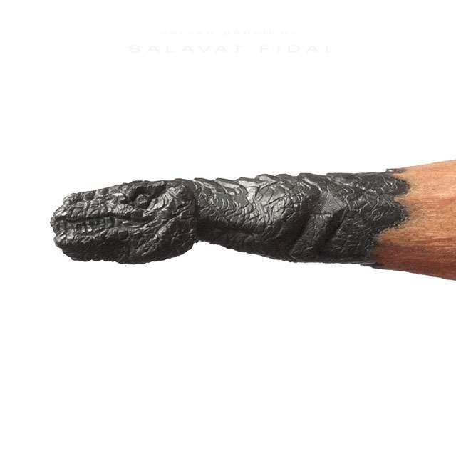 Pencil tip sculptures by salavat fidai dudeiwantthat.com