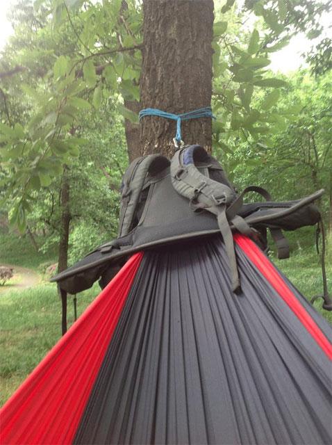 hacked pack hammock backpack     hackedpack hammock backpack   dudeiwantthat    rh   dudeiwantthat