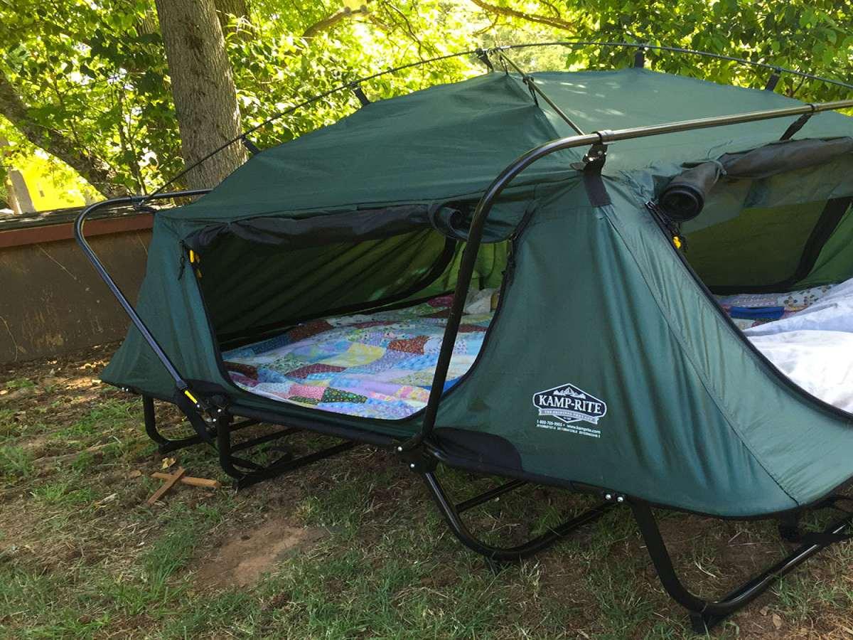 ... K&-Rite Double Tent Cot & Kamp-Rite Double Tent Cot | DudeIWantThat.com