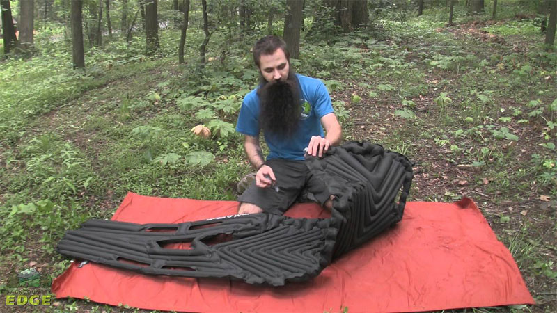 klymit inertia camping mattress