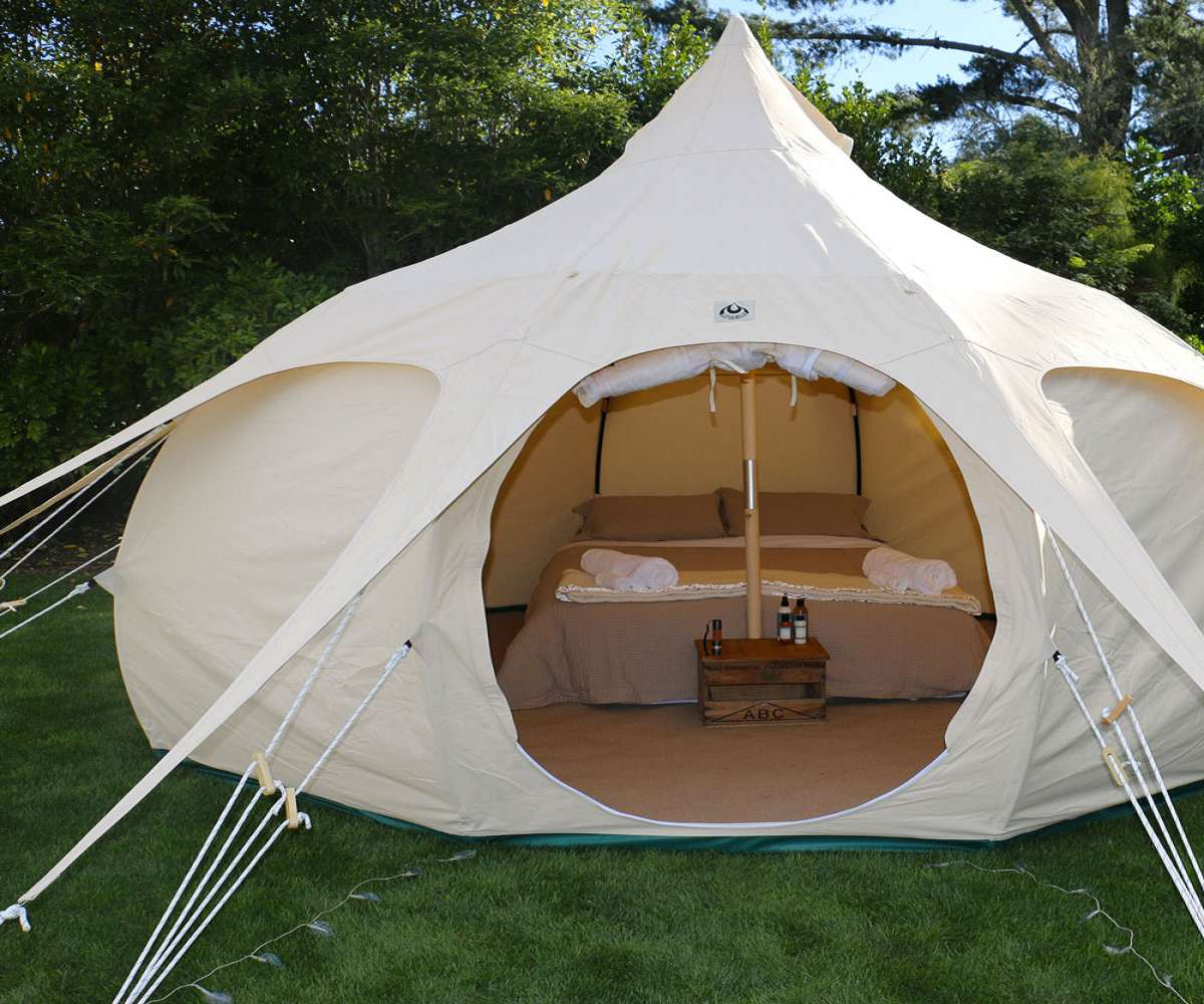 ... Lotus Belle Luxury Canvas Tents ... & Lotus Belle Luxury Canvas Tents | DudeIWantThat.com