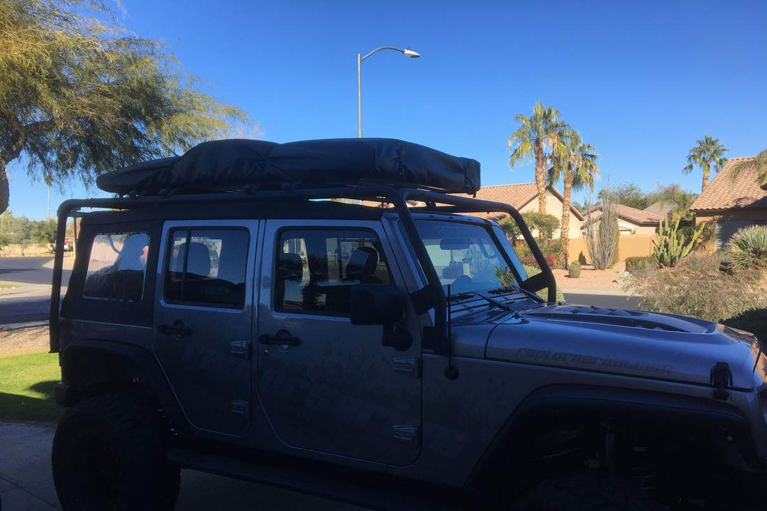 Raptor Series Jeep Truck Suv Rooftop Tent Dudeiwantthat Com