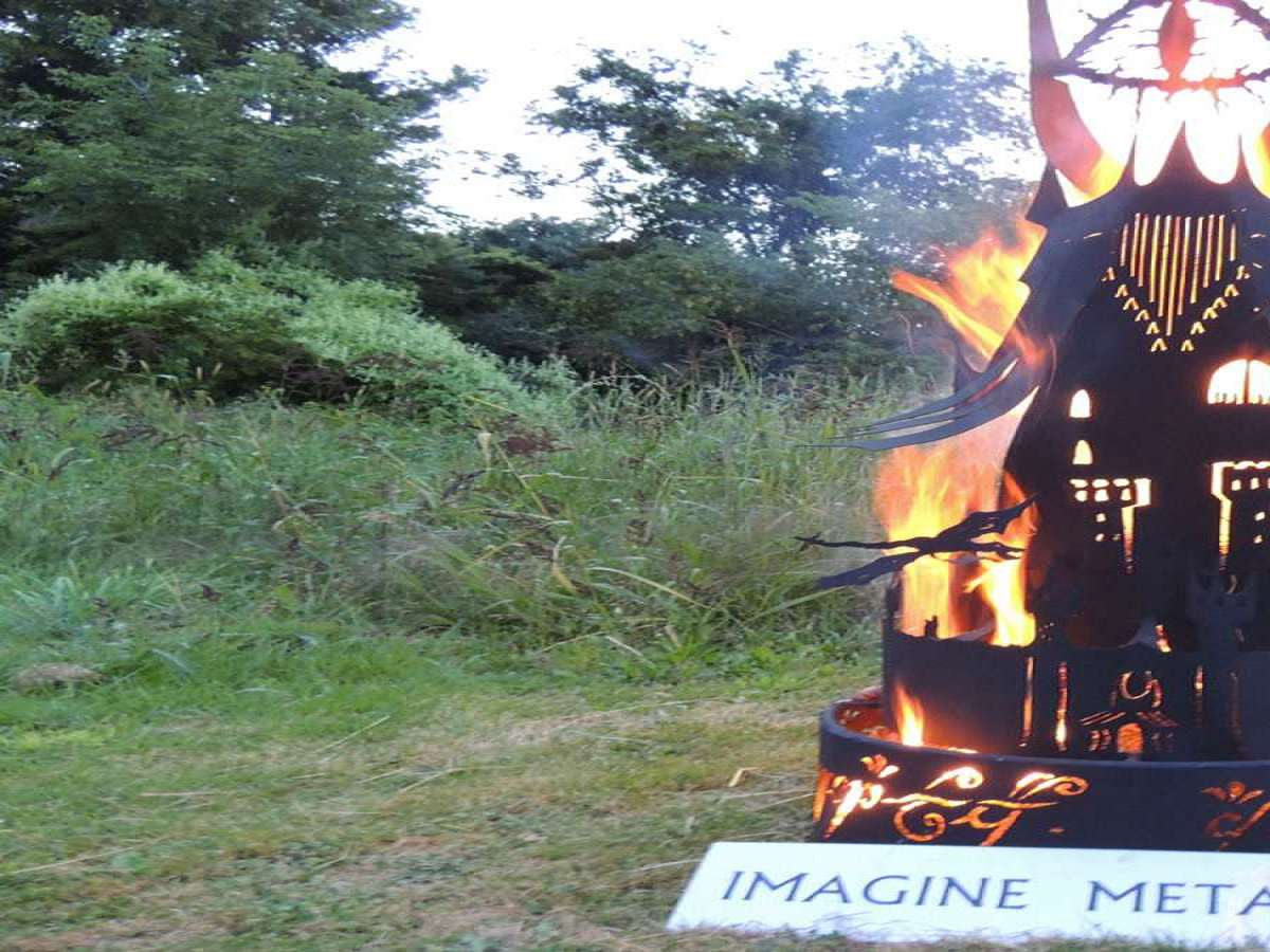 ... Eye of Sauron Fire Pit ... - Eye Of Sauron Fire Pit DudeIWantThat.com