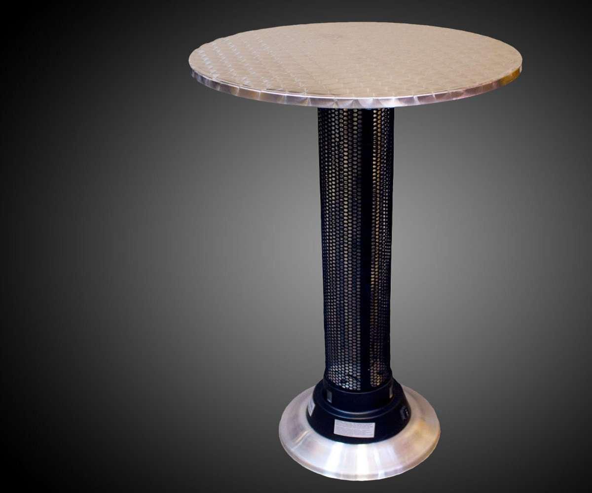 Indoor/Outdoor Heat Lamp Table | DudeIWantThat.com