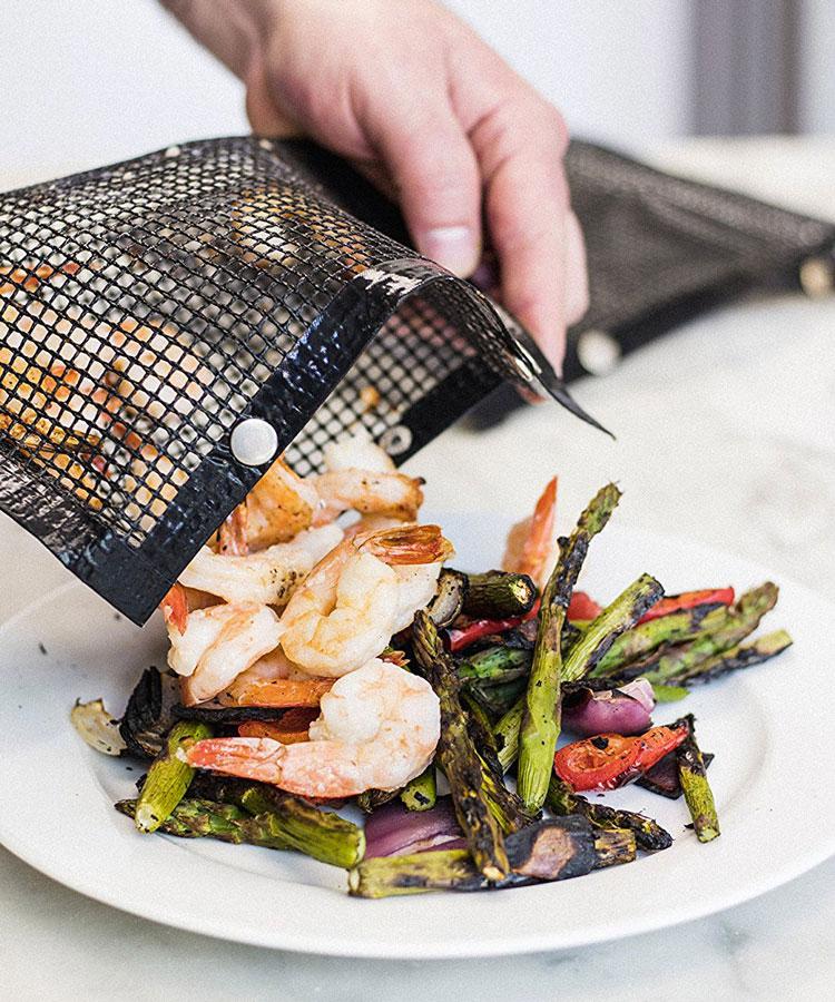 Non Stick Mesh Grilling Bag