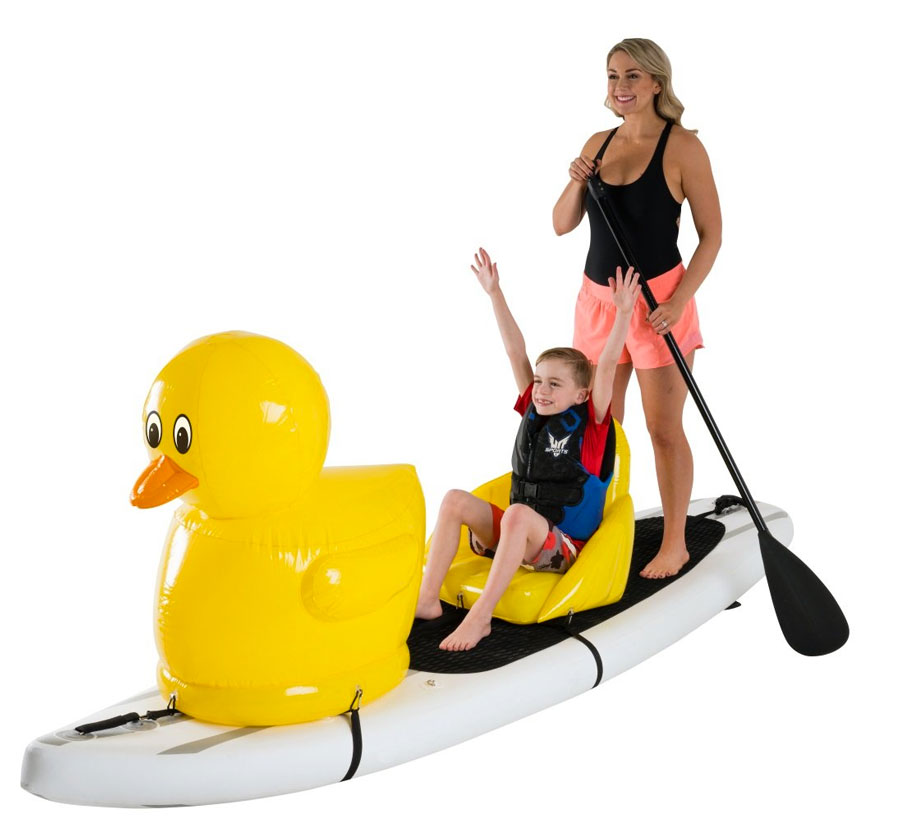 Stand Up Floats Inflatables to Transform Your SUP Paddle Board