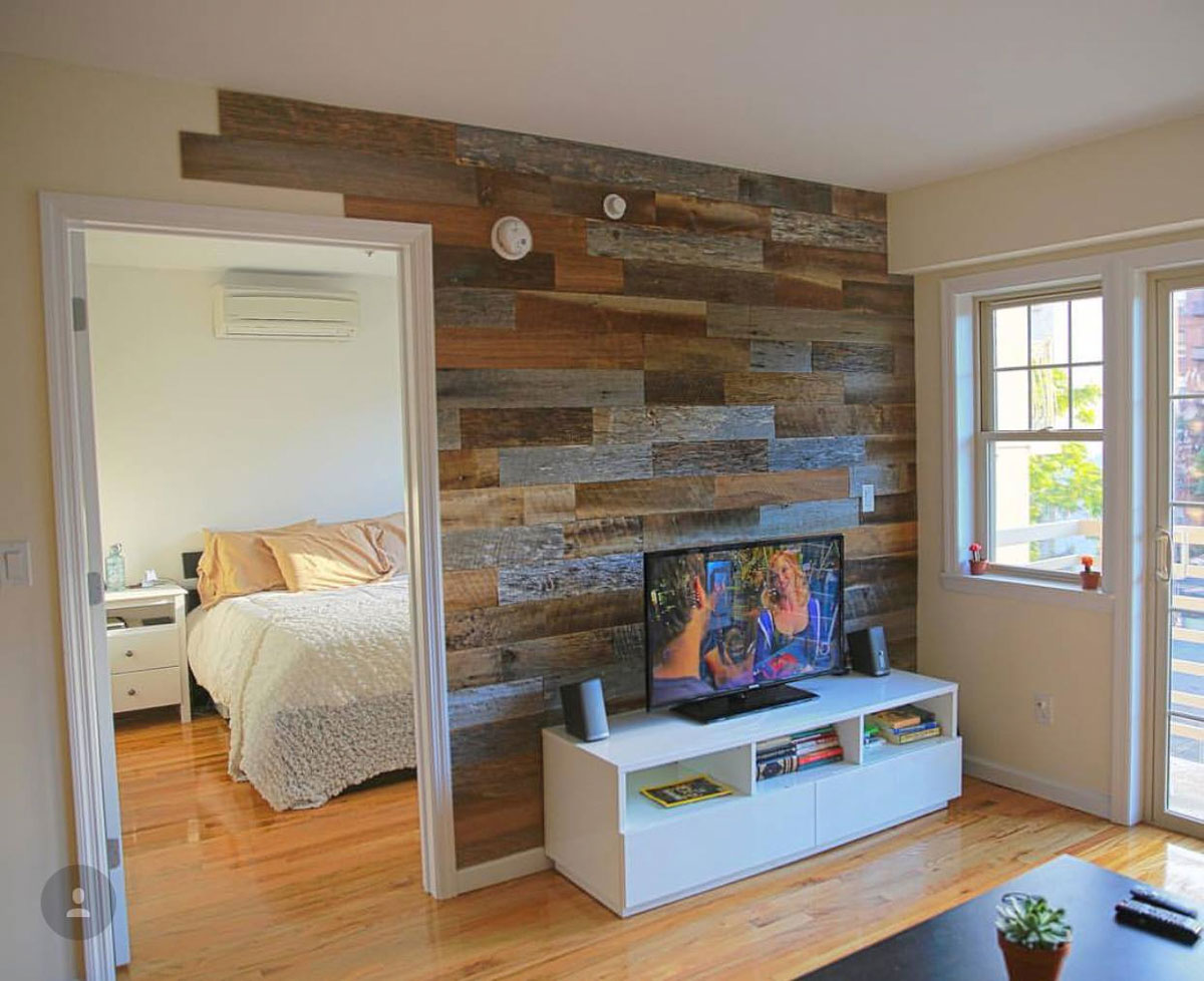 Artis Wall - Removable DIY Wood Accent Walls | DudeIWantThat.com