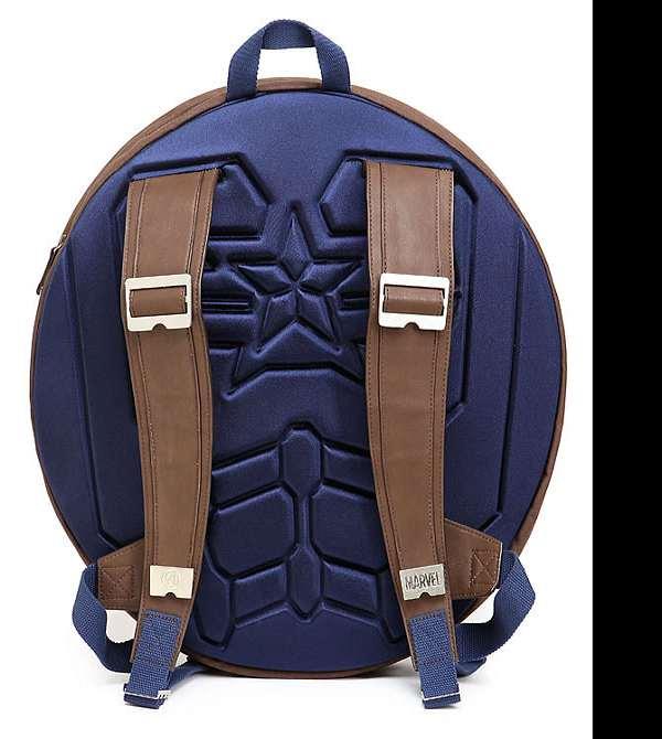 Captain America Backpack Shield Bag Schoolbags Travel Bag Notebook Bag XMAS Gift