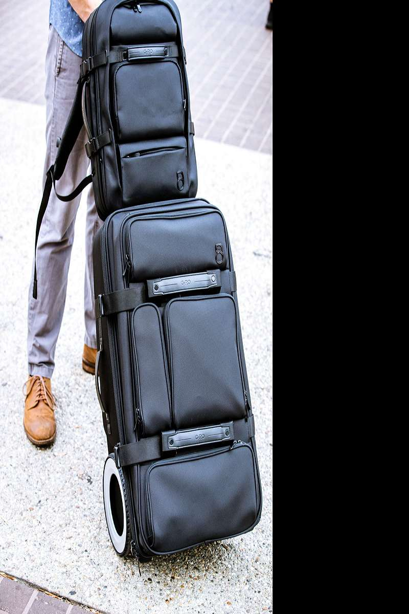 G Ro Smart Luggage Backpacks