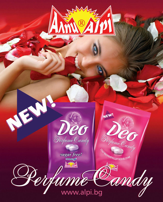 Deo Body Odor Candy