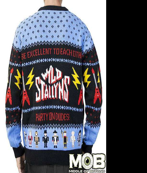Bill & Ted Ugly Christmas Sweater   DudeIWantThat.com