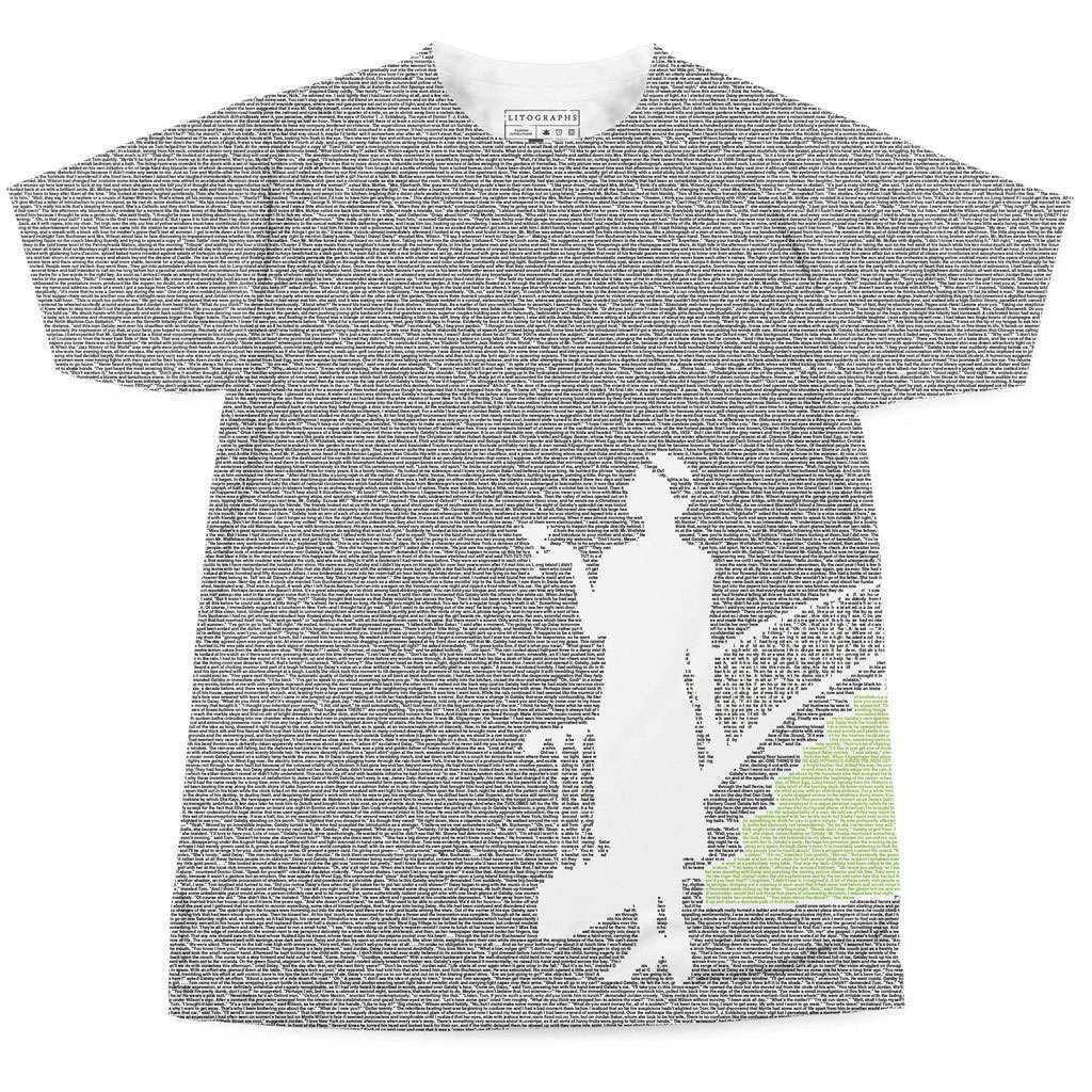70b26b14 Litographs - Entire Books on T-Shirts   DudeIWantThat.com