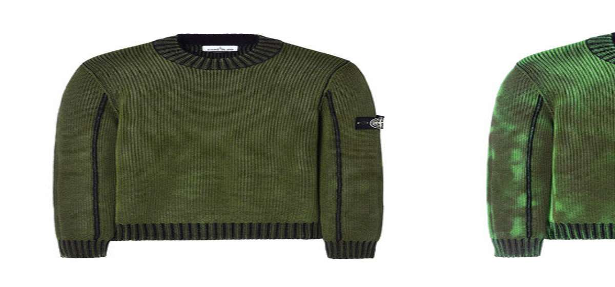 Stone Island Ice Knit Thermo Sensitive Sweaters Dudeiwantthatcom