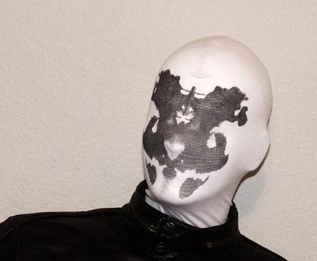 Watchmen Rorschach Mask Moving Ink Blots Changements sensibles /à la chaleur avec votre souffle Conception1 Inkblot Mask Heat Activated Cosplay Halloween Costume Props