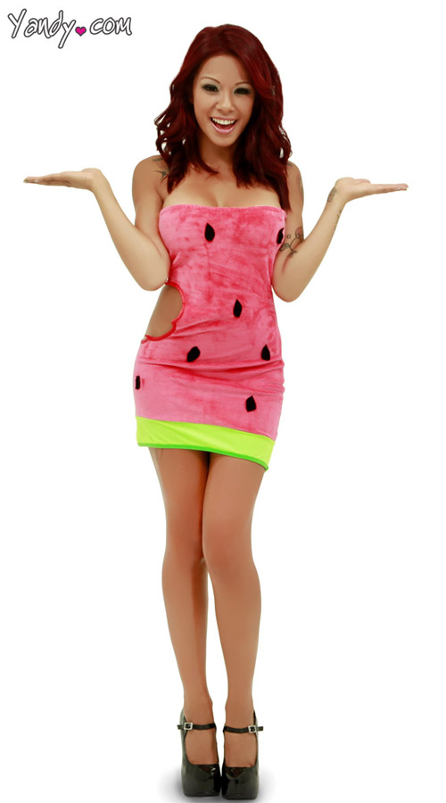 Sexy watermelon costume dudeiwantthat sexy watermelon costume sexy watermelon costume solutioingenieria Gallery
