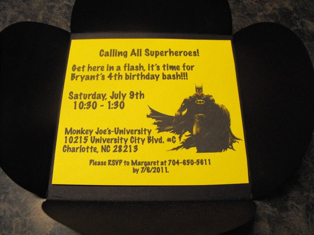 batman party invitations | dudeiwantthat, Party invitations