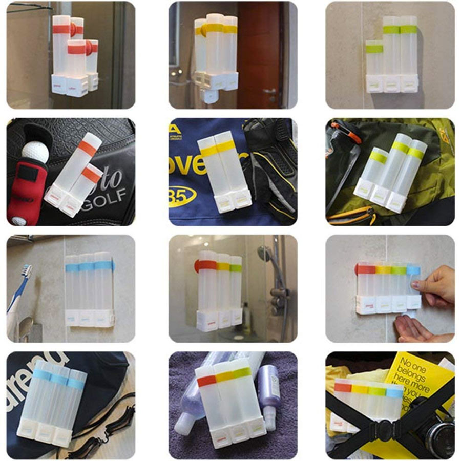 Suction Cup Travel Bottles
