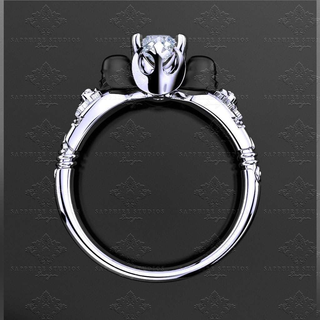 Black Wedding Ring For Women 60 Trend  Darth Vader Engagement