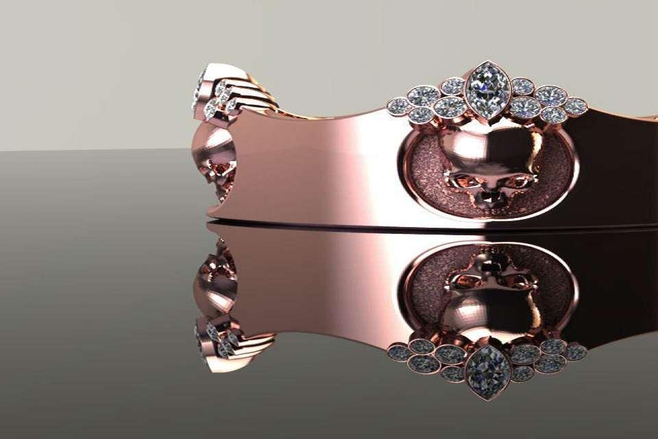 Wedding Bands St Louis Mo 35 Luxury  Diamond Skull Rings