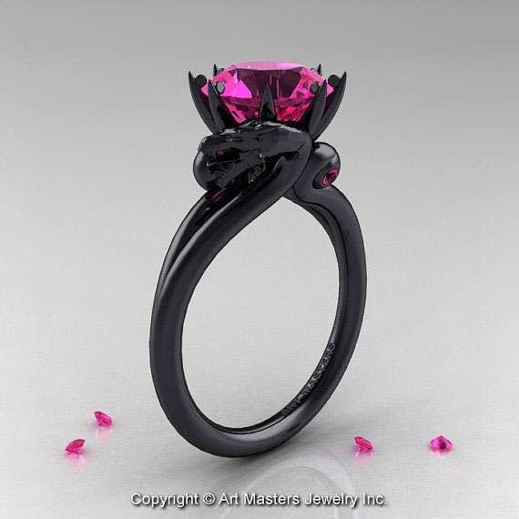 Black Wedding Ring For Women 9 Ideal  Dragon Rings