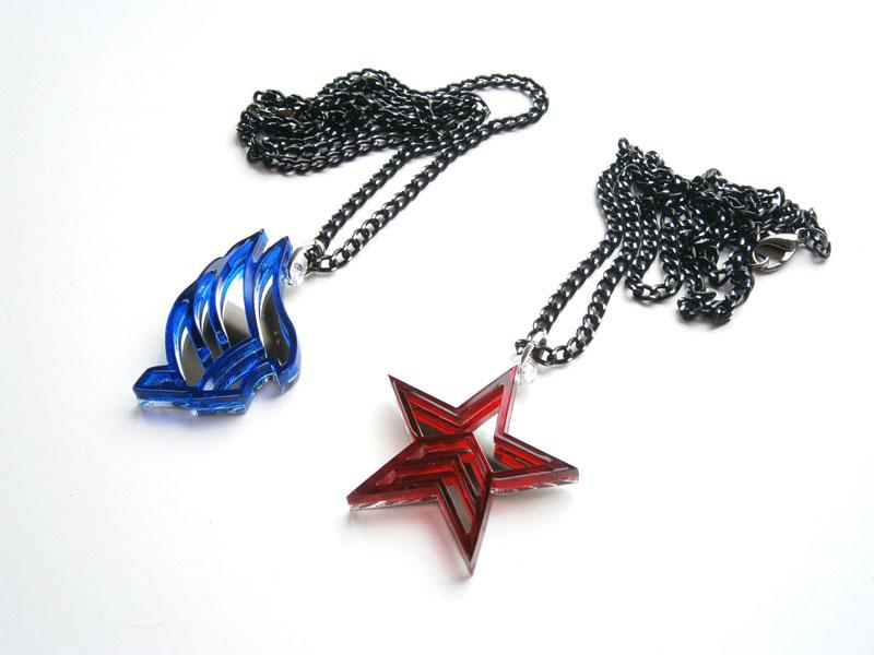 Wonderful Laser Cut Pop Culture Necklaces | DudeIWantThat.com TA26
