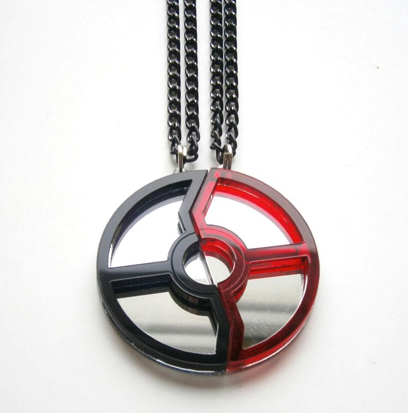 Lovely Laser Cut Pop Culture Necklaces | DudeIWantThat.com RL49