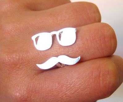 Mens Baseball Wedding Rings 88 Nice  Mr Mustache with
