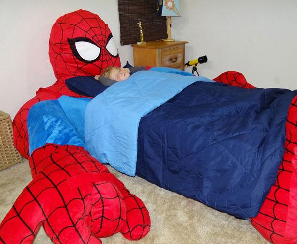 Unique Spider Man Bed Cover