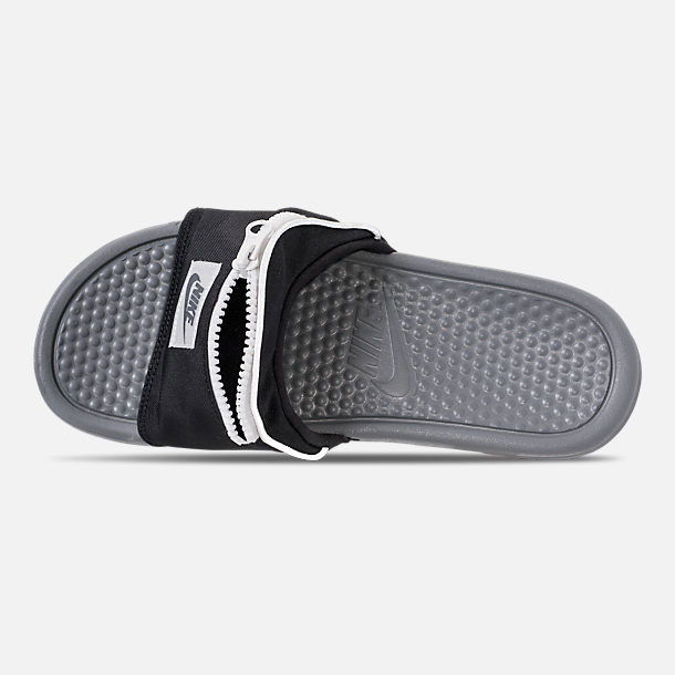 nike flip flops with pouch