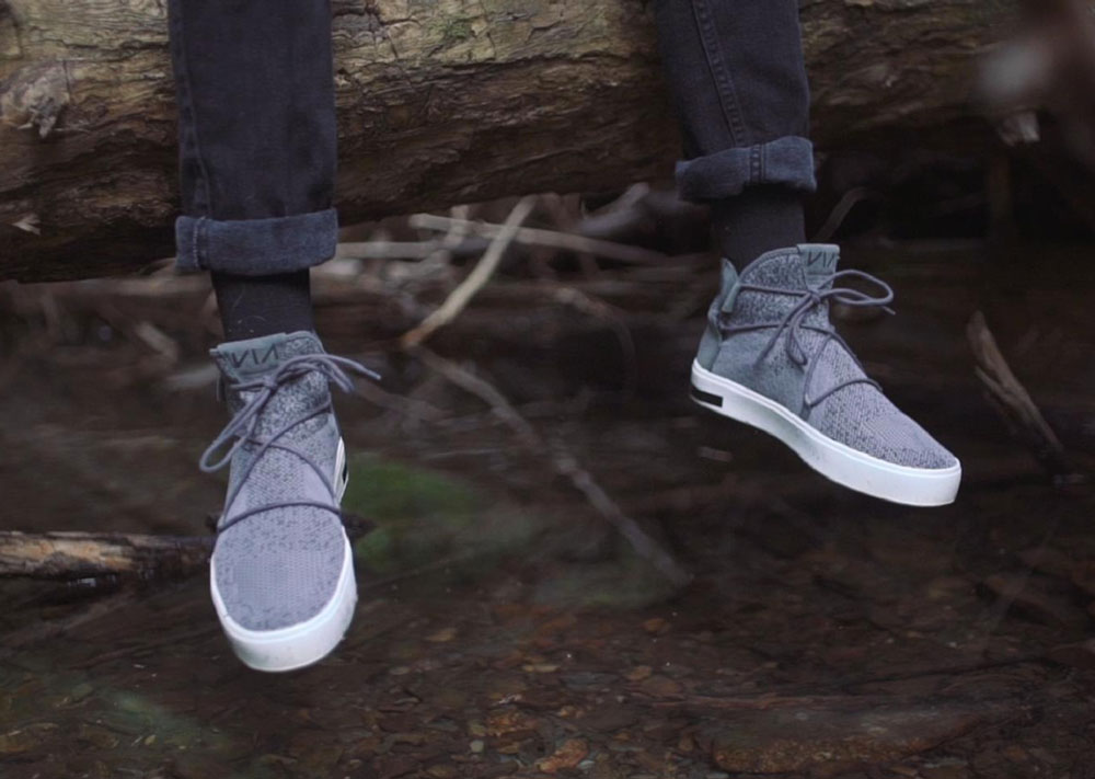 VIA Waterproof Knit Shoes