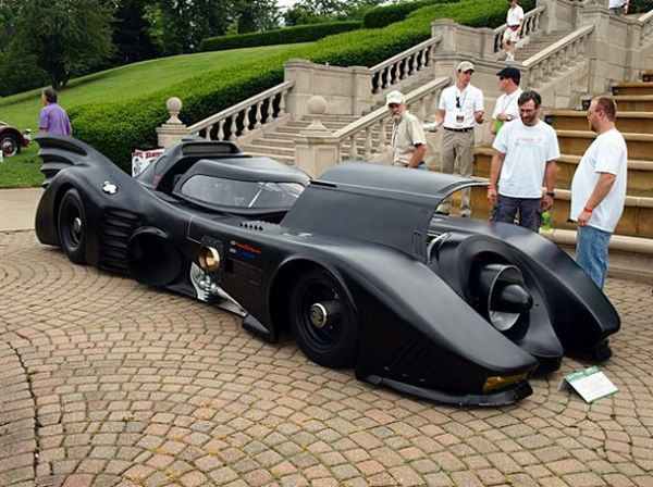 Jet Turbine Powered Batmobile