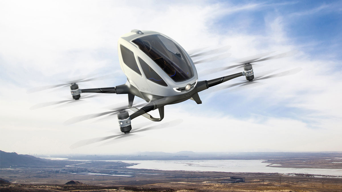 EHANG184 Life Size Rideable Drone
