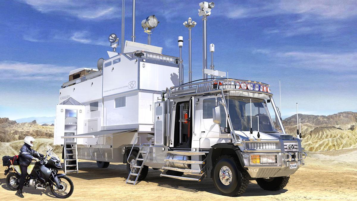 KiraVan Terrestrial Spaceship