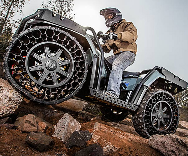 polaris sportsman wv850 airless tire atv. Black Bedroom Furniture Sets. Home Design Ideas