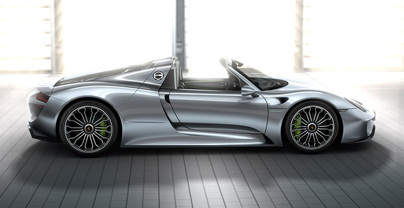 porsche hybrid the 918 spyder. Black Bedroom Furniture Sets. Home Design Ideas