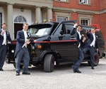 A-Team Van at Wedding
