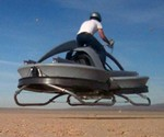 Aerofex Aerial ATV - Back View