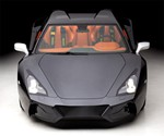 Arrinera Supercar - Front View