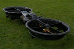 Hoverbike 3/4 View