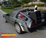 DeLorean Time Machine Rental
